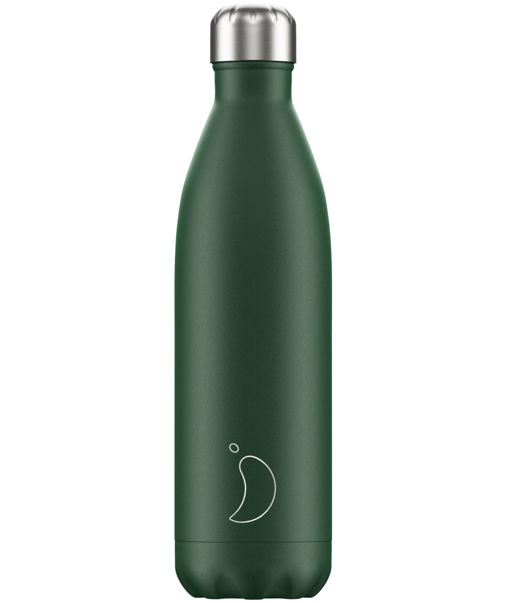BOTELLAS CHILLY - Verde mate