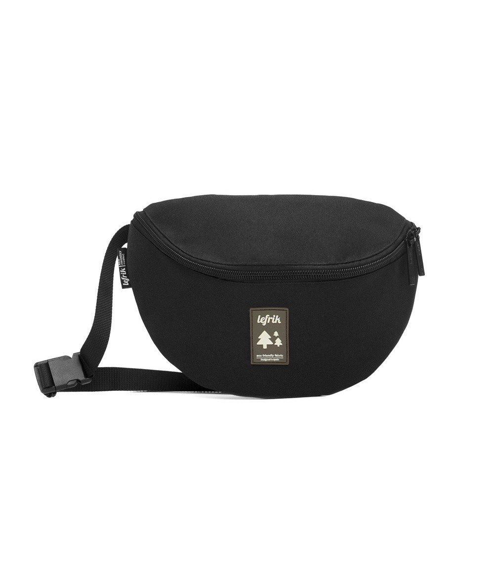 LEFRIK - BEAT BUM BAG - Negra