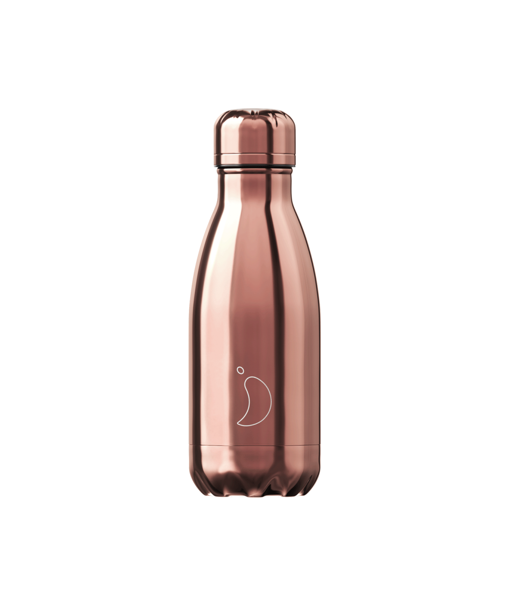 BOTELLAS CHILLY 260ml - Oro rosa