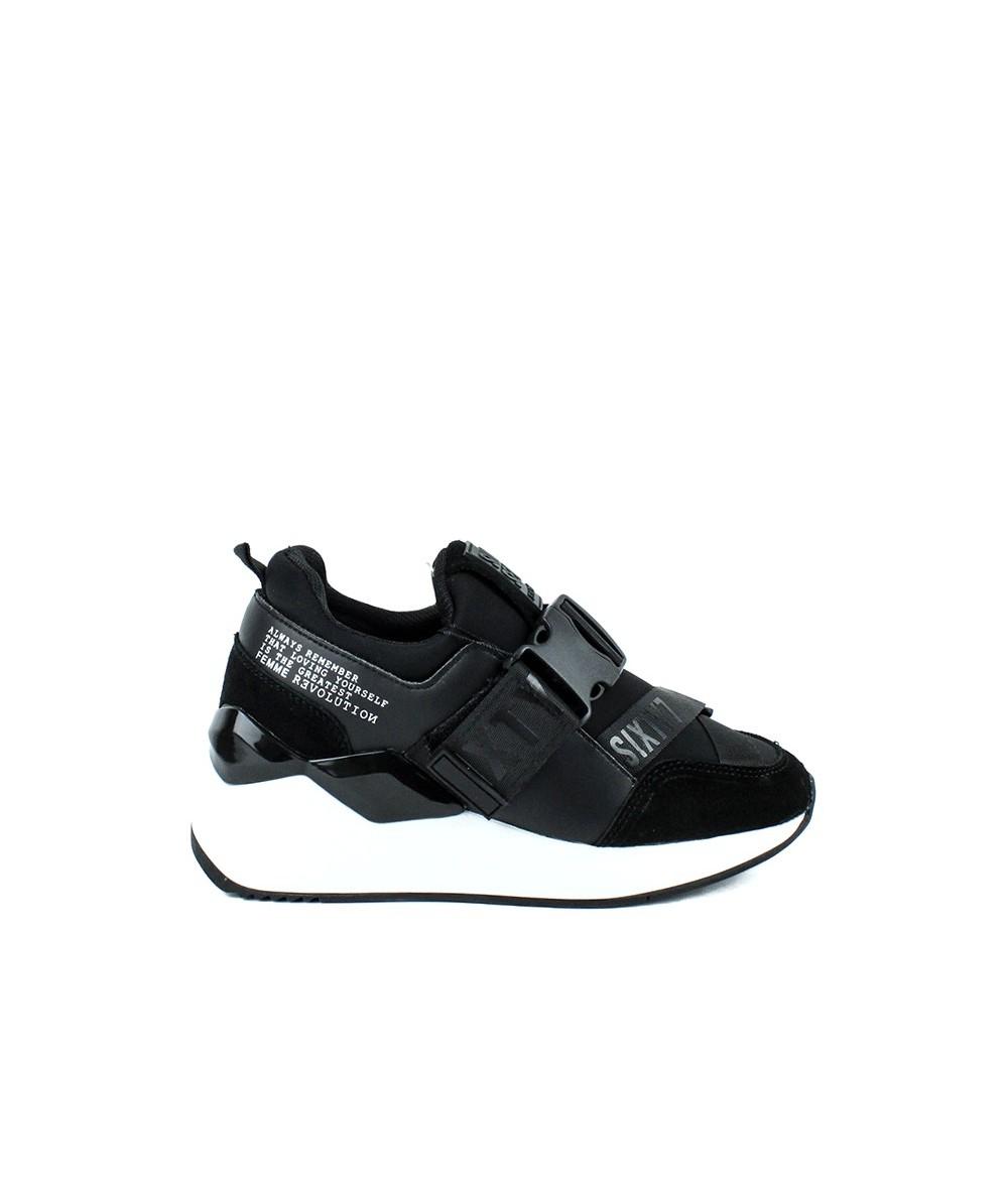 SIXTY SEVEN - 30209 - Zapatilla plataforma negra