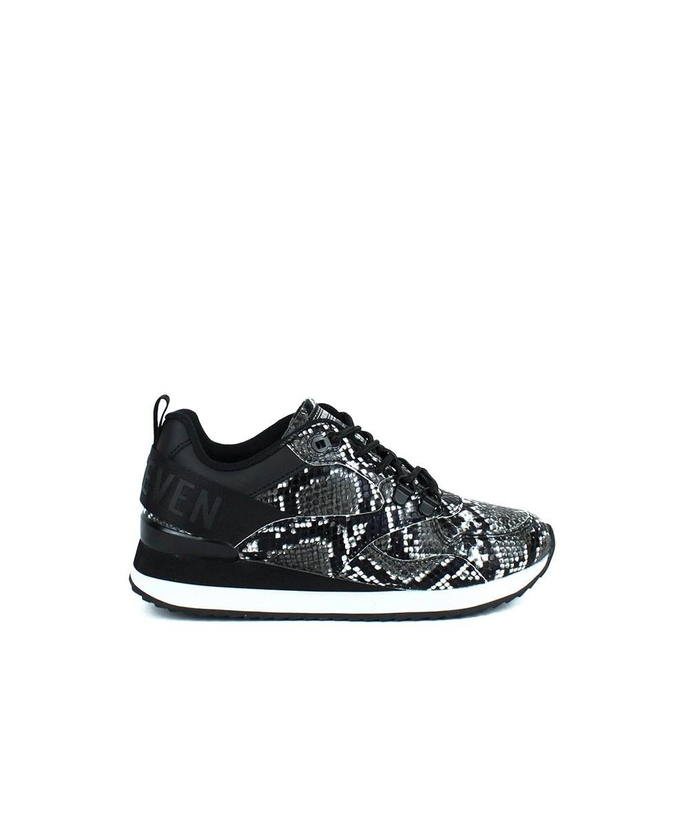 SIXTIY SEVEN - 30213 - Zapatilla serpiente negro y blanco