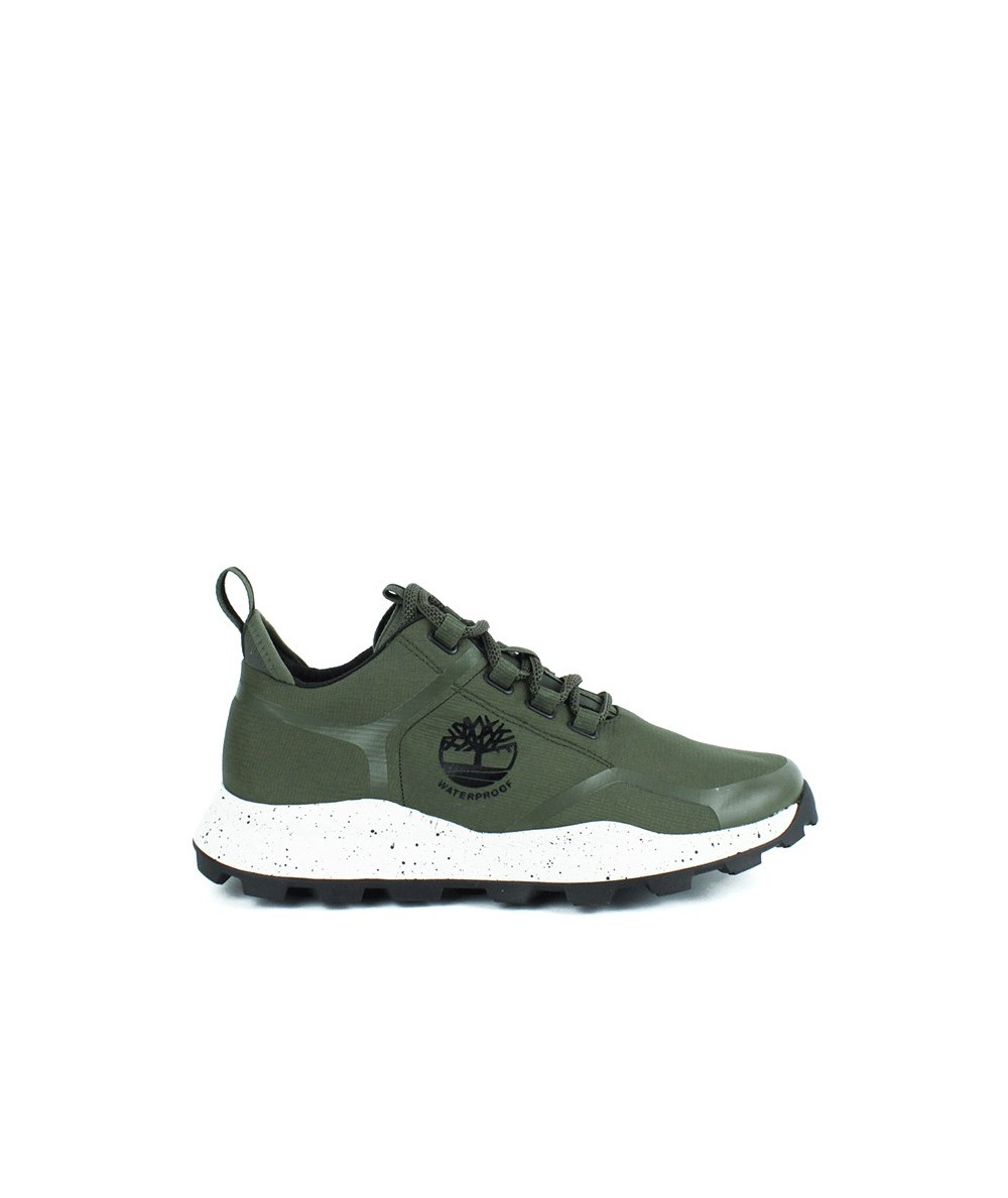 TIMBERLAND - BROOKLYN - Zapatilla verde waterproof