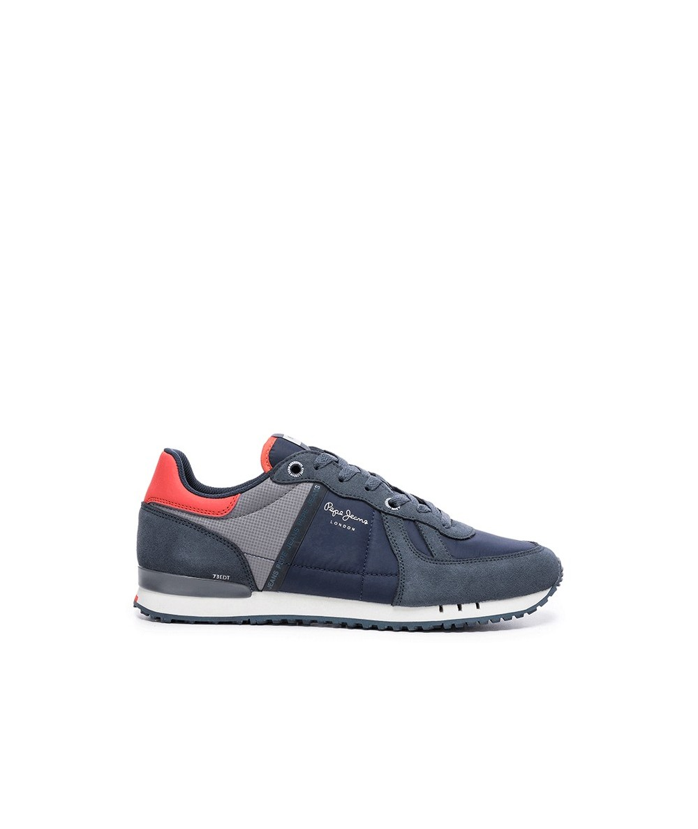 PEPE JEANS - PMS30590 - Deportivo Azul y Gris