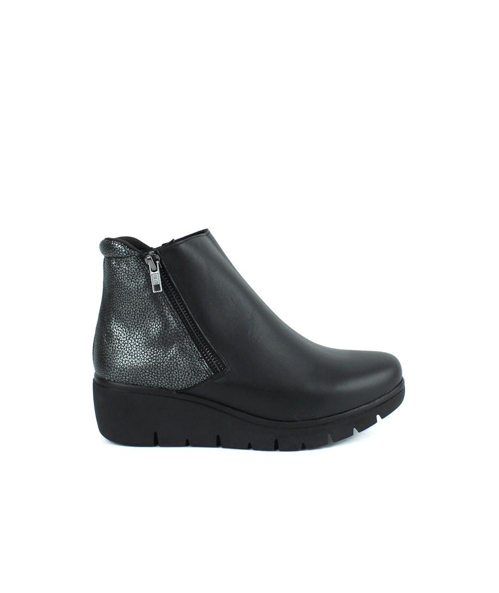 LINCE - 94854 - Botin Cuña Negro