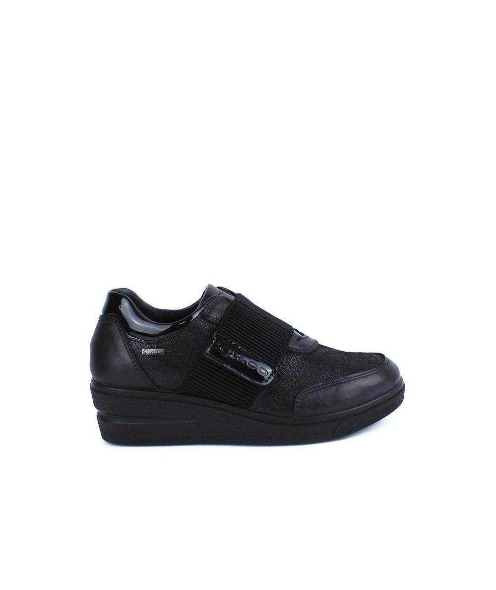 IGI - 4140211- Zapato Negro Velcro