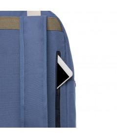 LEFRIK - CAPSULA - Mochila 2 asas azul y marrón