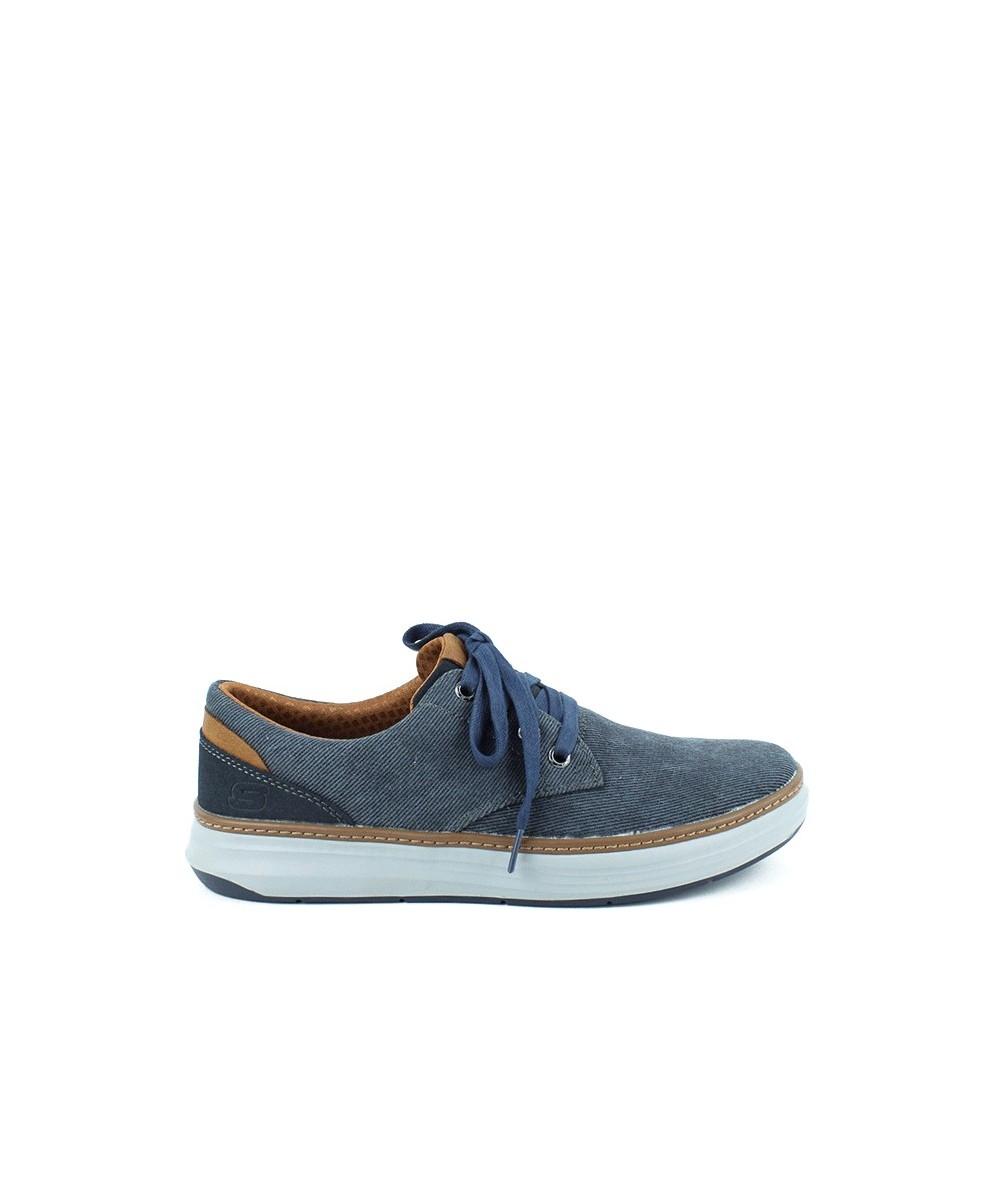 SKECHERS - 65981 - Zapato textil Azul