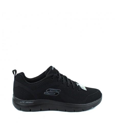 SKECHERS - 232057 - Zapatilla Negra Memory Foam