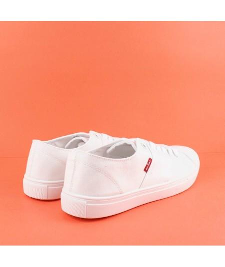LEVIS - 231552 - Zapatilla lisa blanca