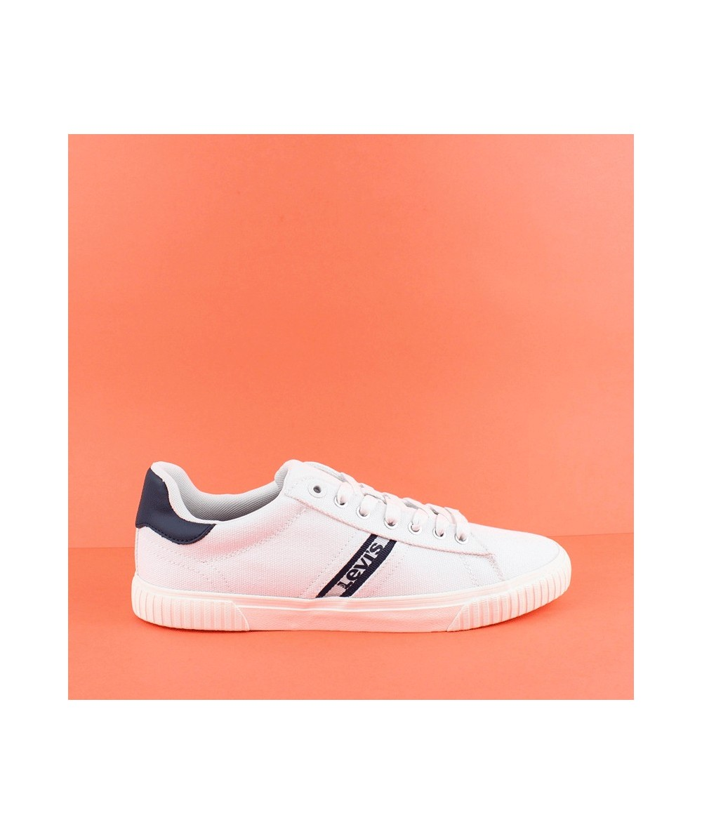 LEVI´S - 227833 - Zapatilla blanca y azul