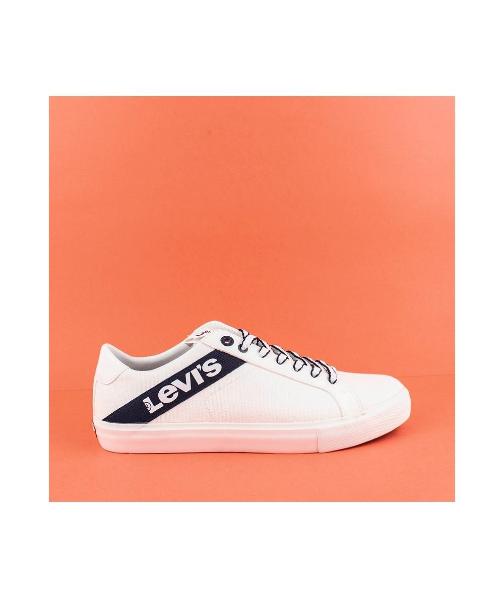 LEVI - 230667 - Zapatilla blanca logo lateral