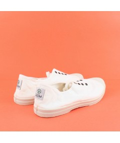 NATURAL WORLD - 102 - Zapatilla algodón Blanca