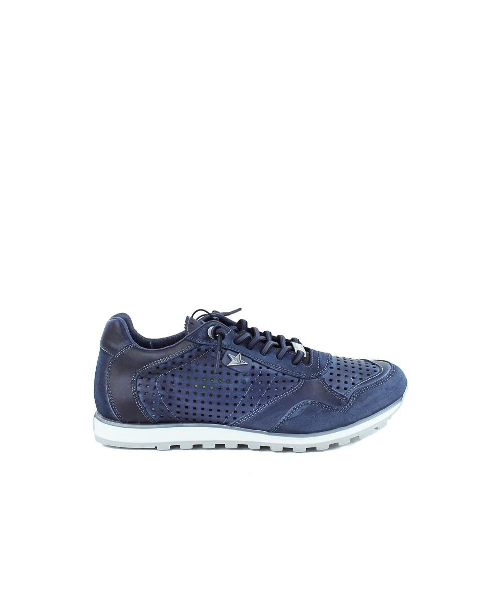 CETTI - 848 - Zapatilla calados Azul