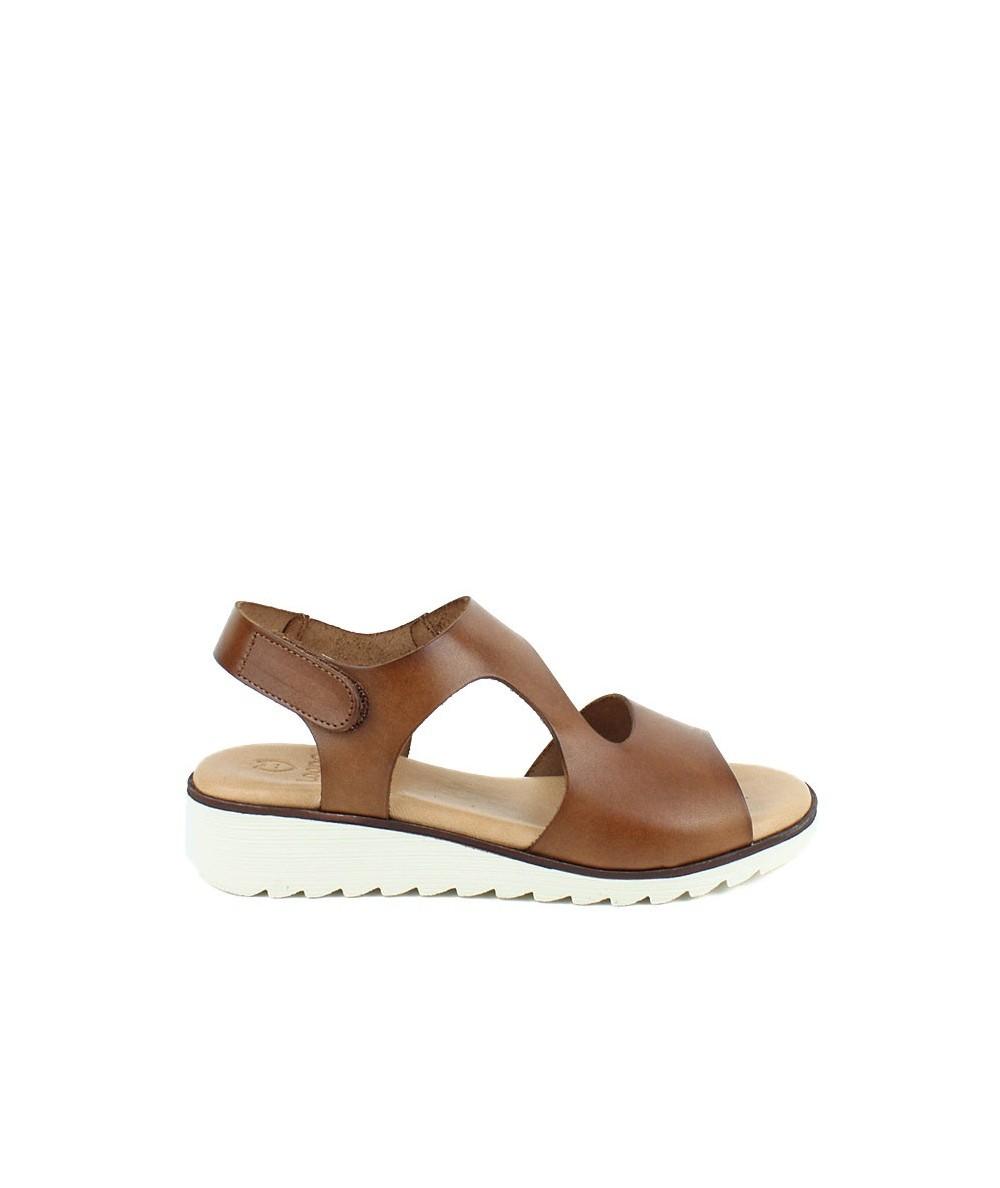 LOOPO - 309 - Sandalia Cuero Velcro
