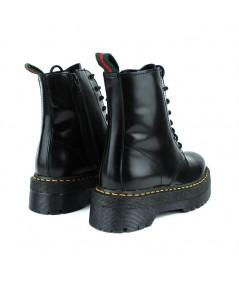 ALPE - 3475 - Botín Cordones Negro