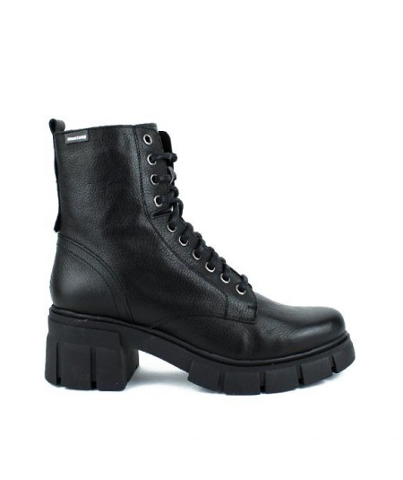 MUSTANG - 51450 - Botin cordones negro