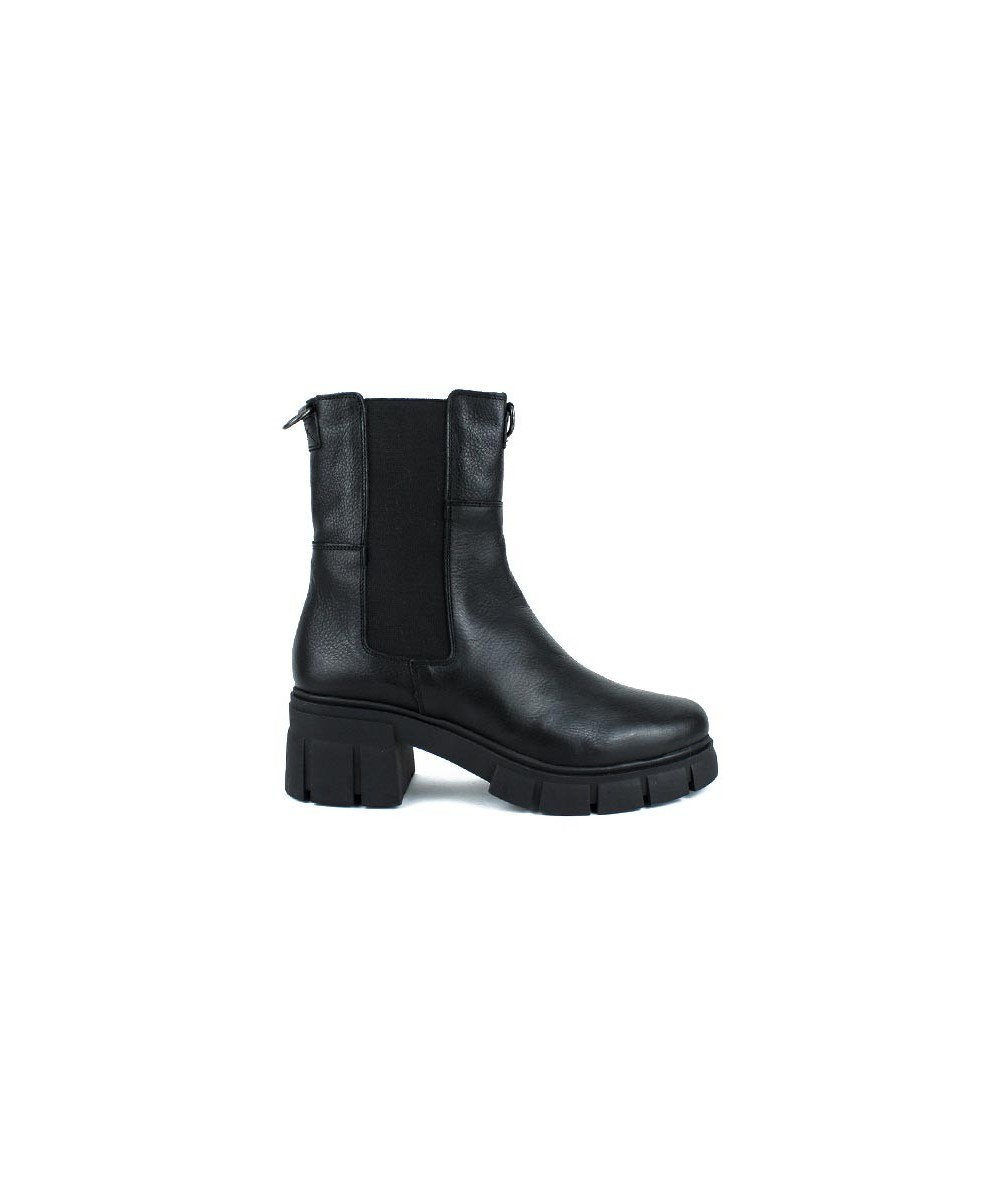 MUSTANG - 51465 - Bota chelsea negra