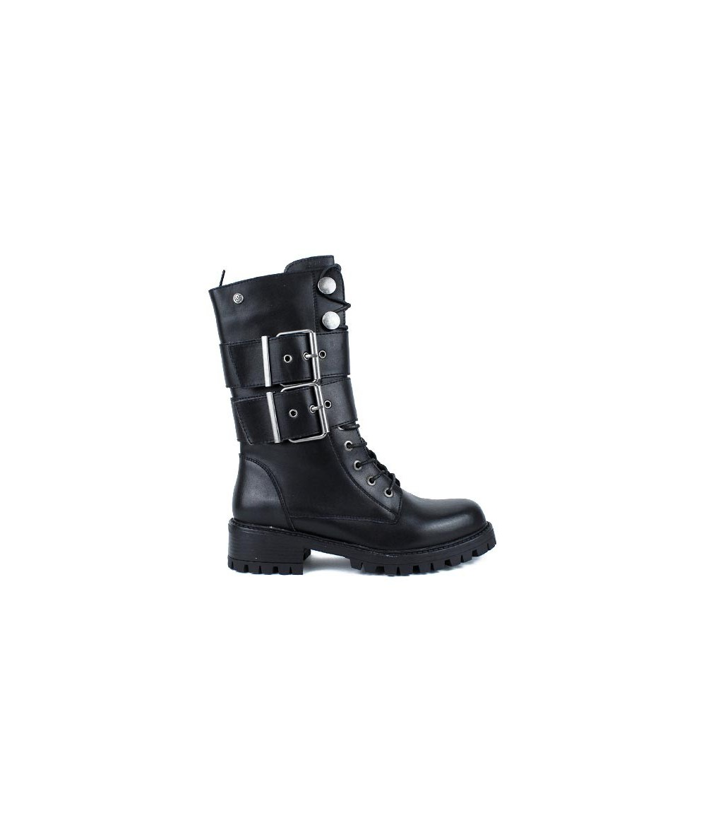 TOP 3 - 20848 - Bota militar hebillas