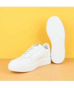VICTORIA -1129100 - Zapatilla piel blanca