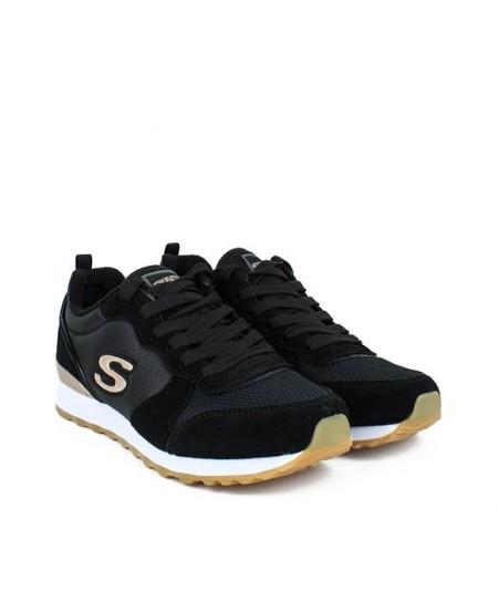 SKECHERS -  111 - Zapatilla Negra Running