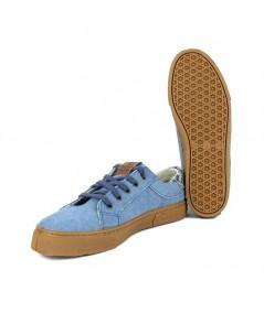 LOOPO GREEN - Zapatilla algodón azul
