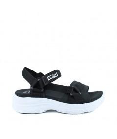 ECOALF - SOFÍA - Sandalia Velcro Negra