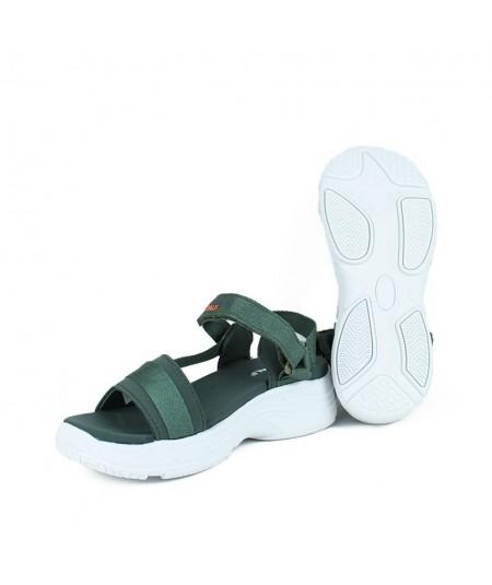 ECOALF - SOFÍA - Sandalia Velcro Kaki