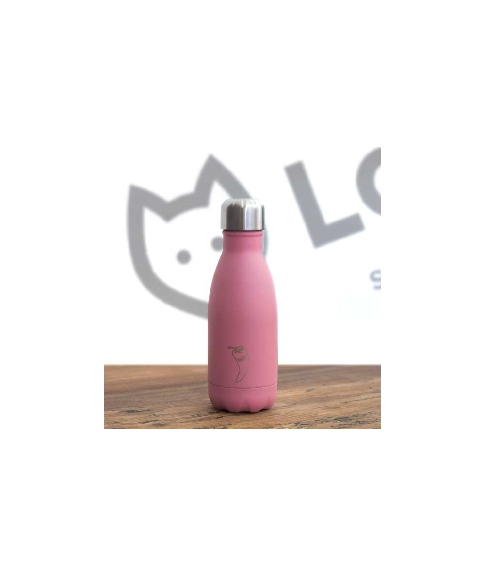 Botella CHILLY Rosa pequeña (260ml)