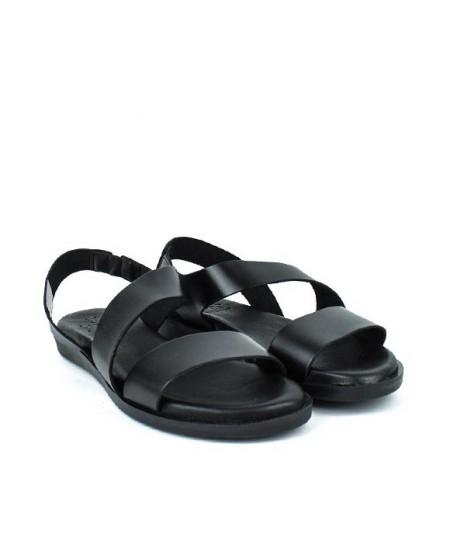 LOOPO - 1359 - Sandalia tira Negra