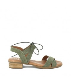 LOOPO - 1291 - Sandalia cordón kaki