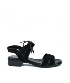 LOOPO - 1291 - Sandalia cordón negra