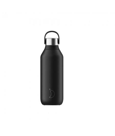 Comprar Botella Chilly color negro.